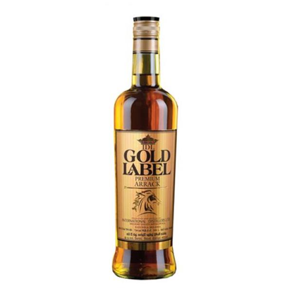 Gold Label Premium Arrack 750ml Dizzy